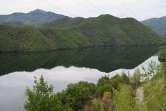 Nature's Reflection... (alekathom) Tags: lake forest nature greece drama