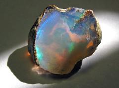 Precious opal (Shewa Province, Ethiopia) 7 (James St. John) Tags: precious opal silicate silicates mineral minerals hydrous silica shewa shoa province ethiopia
