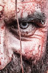 Eye (Mr Gray Scale) Tags: zombie world day london wzd2016 horror blood fear eye face