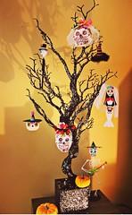 IMG_7998 (natl1046) Tags: halloween calavera skull sugarskulls nataween ween decorations halloweendecorations tree halloweentree