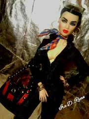 all that (krixxxmonroe) Tags: ira d ryan photography krixx monroe styling fashion royalty nu face fr2 opium ayumi black brocade suit by the vogue hong kong custom handbag me
