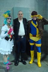 NYCC 2016 10-9-16 (17) (Comic Con Culture) Tags: newyorkcomiccon newyorkcomiccon2016 nycc nycc2016 nyc newyorkcity hansolo cyclops starwars xmen marvel cosplay wendywindup javitscenter steampunk