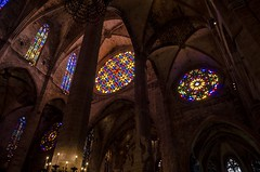 DSC_0934 (mkk3a) Tags: architektura hdr hiszpania laseu majorka mallorca palma palmademallorca gotyk obrbka witra