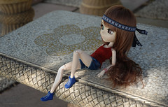 Cool resting (Erla Morgan) Tags: doll pullip pullipsouseiseki souseiseki souki erlamorgan junplanning groove girl resting clothes light cool chips wig cute obitsu