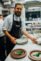 Filip Langhoff (Premshree Pillai) Tags: helsinki finland helsinkiaug16 europe eu ask restaurantask tastingmenu dinner dinnerforone filiplanghoff kitchen summer summer2016