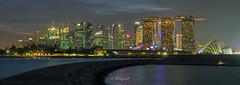 Marina Pano (wonglp) Tags: m43 olympus nofilter bluehour olympus12100mmf4prois singleshot microfourthirds singlerowpano panorama penf landscapes longexposure landscapephotography ptgui