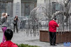 Budapest: The Great Synagogue (Erwin van Maanen) Tags: greatsynagogue grotesynagoge dohnystreetsynagogue dohnyutcaizsinagganagyzsinagga  tabakgassesynagogue moorish jews joods budapest boedapest hungary hongarije erwinvanmaanen kroonenvanmaanenfotografie nikond800 europe europa