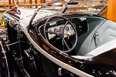 Boat tail cockpit (GmanViz) Tags: gmanviz color detail nikon d7000 1932 auburn speedster interior steeringwheel dashboard door windshield chrome car automobile heritagemuseumandgardens