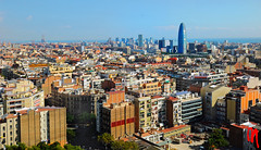 Phot.Barcelona.Panorama.Torre.Agbar.01.101020.7960.jpg (frankartculinary) Tags: nikon d880 d300 d200 f2 f3 f4 coolpix frankartculinaryyahoode square places place plaza pltze strasen rue calle strada streets historic market spain espaa spanien barcelona valencia cac torreagbar casamil casabatll