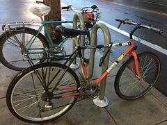 Bikes spotted PDX (Dyslexic Precision) Tags: bridgestone threespeedoctober
