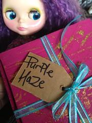 Happy flowery mail! (2tMargarett) Tags: mohair restored kenner blythe reroot 7lines squirreljunkiespa uploaded:by=flickrmobile flickriosapp:filter=nofilter duchessdarling