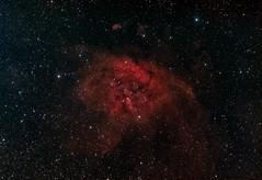 Emission Nebula Gum51 in Norma (Astroshed) Tags: space nebula astrophotography astronomy norma deepspace goldcoast narrowband emissionnebula Astrometrydotnet:status=solved mappedcolor Astrometrydotnet:version=14400 mappedcolour Astrometrydotnet:id=alpha20130582732919 astroshed gum51 rcw105