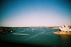 View from Sydney Bridge