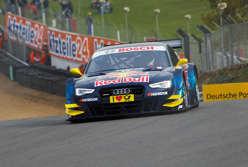 DTM Audi Sport Team Abt Sports line Red Bull Audi RS5 (Jamie Green)