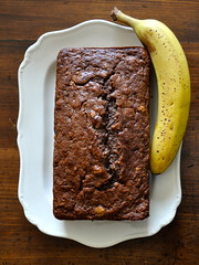 Chocolate Banana Bread (Jeannette Greaves) Tags: bread banana 2013 chocolatebananabread