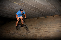 wallride (lachierobo) Tags: night bmx wallride
