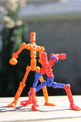 Heroes (KidMechano) Tags: color mo v3 figure kit molded modibot