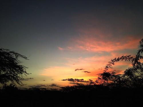 Sunset in Beledweyne, Somalia