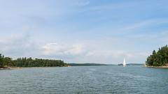 Sailing by the islands (JarkkoS) Tags: 2470mmf28eedafsvr 3840x2160 4k boat boating d800 finland landscape sea summer suomenlahti ultrahd wallpaper water kyrksltt uusimaa fi