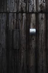 IMG_7597 (Yudai OKAMOTO) Tags: naoshima tradename wall wooden house architecture traditional local art texture text ceder
