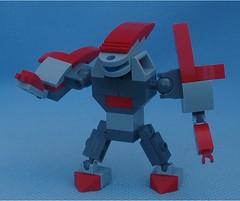 Bruiser (Mantis.King) Tags: lego legogaming legomecha moc mechaton mobileframezero mfz mf0 microscale mecha mech scifi futuristic wargames