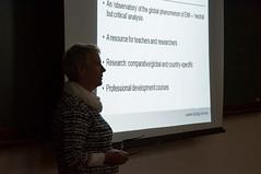 Pesquisadora snior da Oxford University, Julie Dearden, faz palestra na UFPR (ufpr) Tags: oxford university palestra professores curso ingls julie dearden pesquisadora reitoria