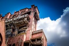 Tower Hotel (fractal pics) Tags: walt disney world waltdisneyworld disneyhollywoodstudios hollywoodtowerofterror darkride towerofterror