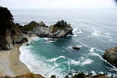McWay Falls, Big Sur (kraymer.) Tags: mcwayfalls waterfall bigsur california usa sea beach drive highway1 roadtrip