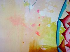 DSC096672 (scott_waterman) Tags: scottwaterman painting paper ink watercolor gouache lotus lotusflower detail pink