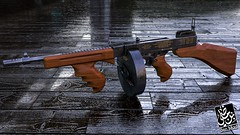 Thompson 1928 3D (Ben.madi) Tags: thompson 1928 3d modeling texturing c4d physical render cinema wwii ww2