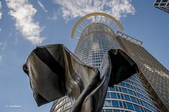 Schlips / Tie (tina djebel) Tags: gebude building architektur krawatte schlips tie frankfurt nikon d7000 dslr nikkor westhafen