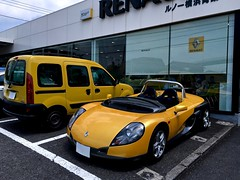 IMG_4191-1 (macco) Tags: renault sport spider sautevent renaultsportspider kangoo          auto mobile automobile car yellow