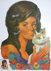 Lavender Lady (Leonisha) Tags: puzzle jigsawpuzzle