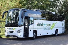 WA13GYK  Anderson Travel, Bermondsey (highlandreiver) Tags: andersontravel wa13gyk wa13 gyk anderson travel bermondsey london vdl futura 2 bus coach coaches leyton orient fc football club carlisle united utd brunton park cumbria
