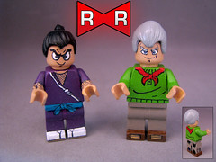 Red Ribbon ARMY (-iacopo / Minifigures / Custom-) Tags: white red redribbon goku lego minifig custom customminifig imc dragonball