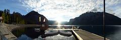 Banff NP - Fairholme Range at Lake Minnewanka (Kwong Yee Cheng) Tags: alberta banffnp canada fairholmerange hugin lakeminnewanka