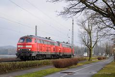 BR218 - LINDAU (Giovanni Grasso 71) Tags: br218 db regio cargo lindau bodensee allgu allgubahn mtu locomotiva diesel nikon d90 eurocity giovanni grasso doppia trazione germania svizzera austria