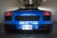 Ass (Hunter J. G. Frim Photography) Tags: supercar colorado lamborghini gallardo blue blu v10 awd italian lp5604 coupe lamborghinigallardo