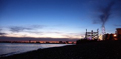 Southsea (Sarah Marston) Tags: southsea beach portsmouth sunset august 2016 sony rx100m4 cloud
