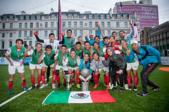 Homeless World Cup 2016 (Homeless World Cup Official) Tags: hwc2016 homelessworldcup aballcanchangetheworld thisgameisreal streetsoccer glasgow soccer mexcio champions celebration scotland