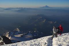 Almost There! (Sergiy Matusevych) Tags: mt mount rainier climbing hiking mountaineering friends wa washington national park mountains adams hood glacier