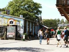 We welcome you with 3 simple rules: have fun, don't run & no photos  #Christiania #Copenhagen #Denmark (elmalquerido.mexico) Tags: instagram asia south east travel