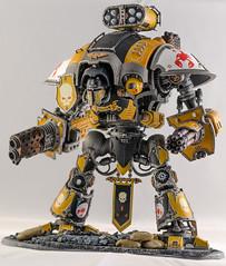 Imperial Knight (Will Margett Photography) Tags: gamesworkshop warhammer 40000 40k imperial knight model miniture nikon d7000 redscorpion