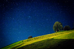 Night sky in the alps. (Arno M.D.C. Burg) Tags: night sky himmel nacht sterne stars alps alpen