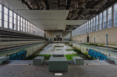 Abandoned Swimming Pool-4 (Darm) Tags: sigma 1835 816 f18 medar nikon darme d7000 iloveyourhome double6 doublesix belgique belgium villa decay poussiere dust abandonn factory usine rust rouille caserne barrack military militaire hotel motel italie italy italia home house maison manoir manor architecture structure btiment infrastructure extrieur entrept eos 5d 6d eos6d markii markiii tamron canon d7100 d7200 d800 d700 olympus zuiko leica texte