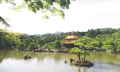Kinkaju-ji Temple (kev_tran15) Tags: temple japan kyoto kinkajuji nature natural trees historic history