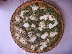 (marizopedo) Tags: food baking homemade olympus spinach tart quiche ricotta