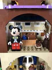 Mickey (kmb733) Tags: disney cinderellacastle lego mickey