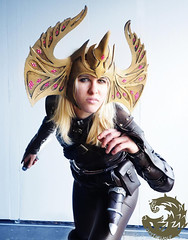 Thieves Guild - Vex Skyrim Crown of Barenziah (DrosselTira) Tags: vex thief skyrim elder scrolls v 5 tes tesv tes5 cosplay cosplayer thieves guild masterguild guildmaster master armor leather game bethesda video videogame costume outfit suit