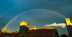 Sun Lakes Rainbow (GoodingGreen) Tags: rainbow banning sun lakes clouds